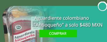 """Aguardiente colombiano """"Antioqueño"""" a solo $480 MXN - Productos Colombianos El Paisa"""