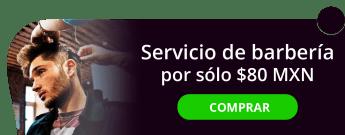 Servicio de barbería por sólo $80 MXN - Textura Digital