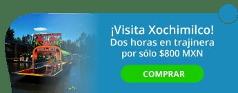 ¡Visita Xochimilco! Dos hrs en trajinera por sólo $800 MXN - Traji-Uber