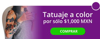 Tatuaje a color de 10 cm por sólo $1,000 MXN. - Tatoo Bulldogs INK