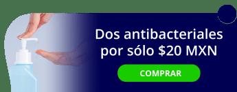 2 jabones antibacteriales de 450 ml c/u por sólo $20 MXN - Colimpsa