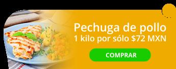 Kilo de pechuga de pollo por sólo $72 MXN - Polleria Alfaro 2
