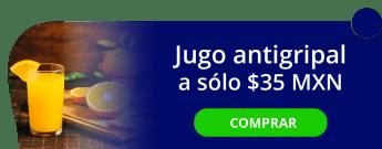 Sube tus defensas, jugo antigripal a sólo $35 MXN - Jugos y Licuados Mary