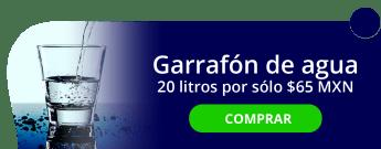 Garrafón de agua purificada, 20 litros por sólo $65 MXN - Purificadora de agua El sifon