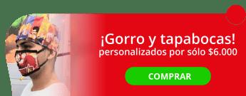 Tapabocas personalizado por $6.000 - Papeleria elite Print