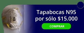 Tapabocas N95 por solo $15.000 - Ferredotaciones MQG