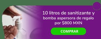 """¡Tu salud es lo primero! 10 litros de Sanitizante por sólo $800 MXN y bomba aspersora de regalo - """"Evergreen Productos de Limpieza y Desinfección"""""""