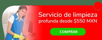 ¿Tienes poco tiempo? Servicio de limpieza profunda desde $550 MXN - Flae Services
