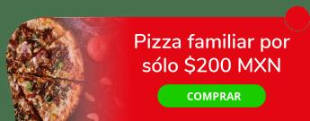 ¡Exquisita oferta! Pizza familiar por sólo $200 MXN - Pizza Isis