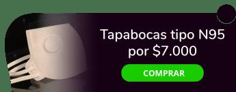 Tapabocas N95 - Tapabocas tipo N95 por $7.000