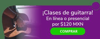 ¡Aprovecha! Clases de guitarra online o presencial por sólo $120 MXN - Capacitación musical CÉS Music