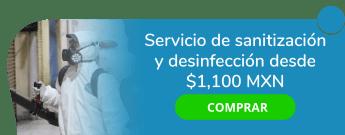 Servicio de Sanitización y Desinfección desde $1,100 MXN - Bunker Proteck