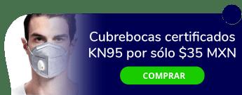 ¡Si sales a la calle cuida tu salud! Cubrebocas Certificados KN95 por sólo $35 MXN - Artículos De Protección Para El Covid