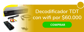 Play Access - Decodificador TDT con wifi por solo $60.000