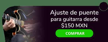 Ajuste de puente para guitarra a mitad de precio desde $150 MXN - Laudería y Luthiers Oxcs