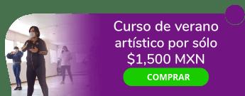 Curso de verano artístico por sólo $1,500 MXN - Dragon Center