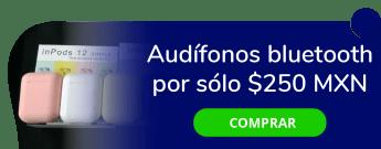 Audífonos Bluetooth por sólo $250 MXN - Accesorios Para Celular Y Tv