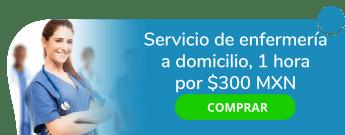 Servicio de enfermería a domicilio, 1 hora por $300 MXN - Enfermeria En General