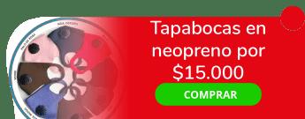 Papiros Ideas Impresas S.A.S - Tapabocas en neopreno por $15.000