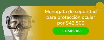 andamios Andino Construcción y Equipos sas - Monogafa De Seguridad para Protección Ocular por $42.500