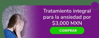 Primeros auxilios para manejo integral de ansiedad por $3000 MXN. - Cemedepsi