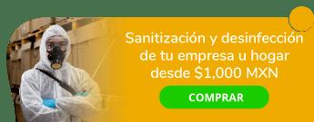 Sanitización y desinfección de tu empresa u hogar desde $1,000 MXN - Mantenimiento Integral Grupo Crisol