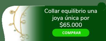 Any Díaz - Collar equilibrio una joya única por $65.000