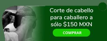 Corte de cabello para caballero a sólo $150 MXN - Imagen Actual