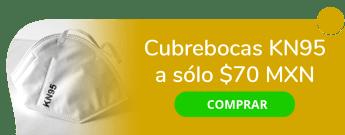 Cubrebocas KN95 a sólo $70 MXN - Merk – Medics