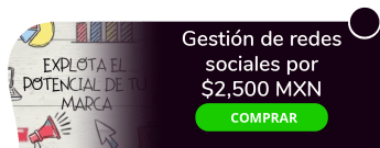 Gestión de redes sociales por sólo $2,500 MXN - Boos-crea