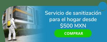 Servicio de sanitización para el hogar desde $500 MXN - Fumysani