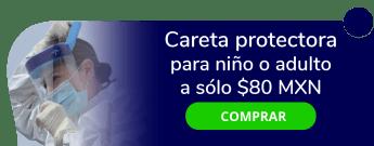 Careta protectora para niño o adulto a sólo $80 MXN - Comercializadora Vazquez
