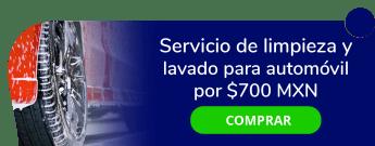 Servicio de limpieza y lavado para automóvil por sólo $700 MXN - Estética Automotriz