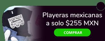 Playeras mexicanas a sólo $255 MXN c/u - Createe