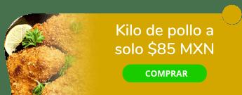Kilo de pollo a sólo $85 MXN - Pollería Vagabundo