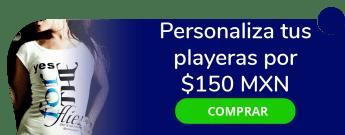 ¡Personaliza tus playeras por sólo $150 MXN! - Impresión Arte