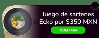 Juego de sartenes Ecko por sólo $350 MXN - Saramis Bazar