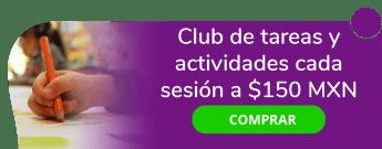 Club de tareas y actividades, sesión a $150 MXN - Club Gala