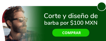 Corte y diseño de barba a sólo $100 MXN - Barbería Unisex Canseco's