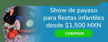 Show de payaso para fiestas infantiles desde $1,500 MXN - Payaso Elotito Peinadito