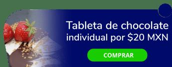 Tableta de chocolate individual por sólo $20 MXN - Lobo Nómada
