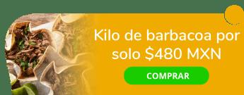 Kilo de barbacoa por sólo $480 MXN - Barbacoa Hidalguense