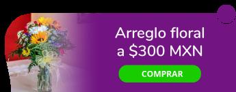 ¡Continuamos con el mes del amor y la amistad! Arreglo floral a $300 MXN - Florería Lulú