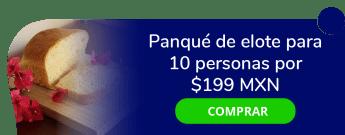 Panqué de elote para 10 personas por sólo $199 MXN - Pastelería amor de mis amores