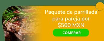 Paquete de parrillada para pareja a sólo $560 MXN - Grill Good´s