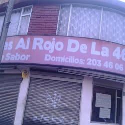 Brasas al Rojo de la 46 en Bogotá