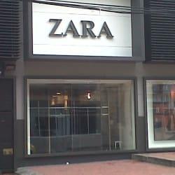 Zara Calle 82 en Bogotá