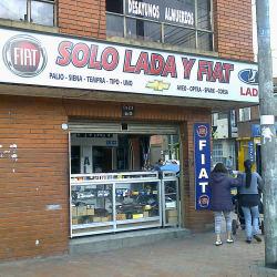 Solo Lada y Fiat en Bogotá