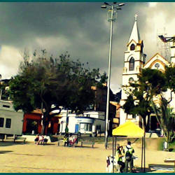 Plaza de Suba en Bogotá