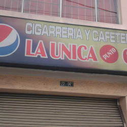 Cigarrería y Cafetería La Única en Bogotá